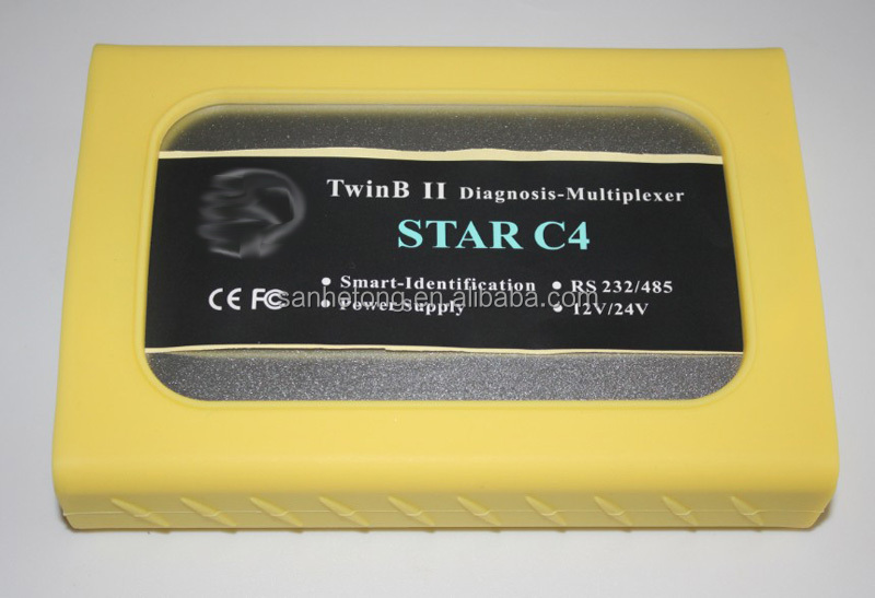 Benz Star C4 Diagnostic Tool with T30 laptop and HDD with 201405 newest version exentry epc for star c4