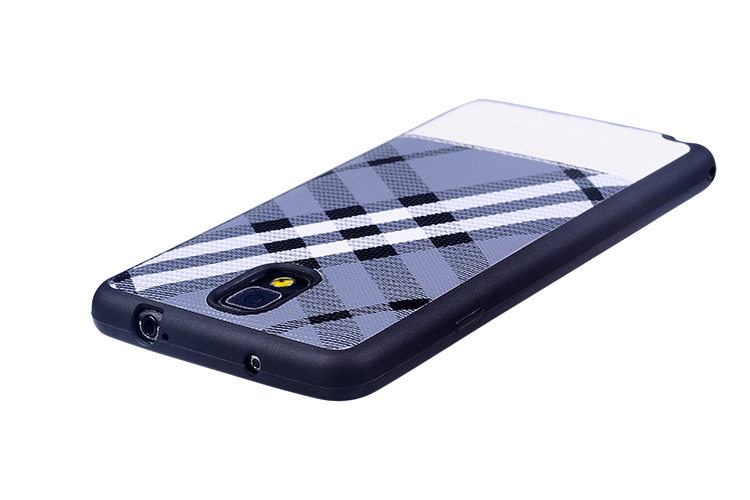 Funny case for samsung galaxy note3, lattice pattern TPU phone case for Note3