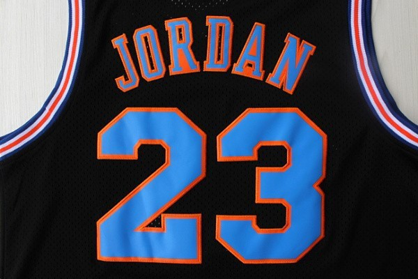 Michael Jordan 23 Space Jam Jersey White, Cheap Basketball Jerseys