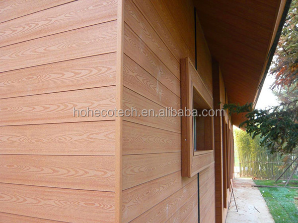 Solid wall covering panels wpc outdoor wall panel for Outdoor wall coverings garden