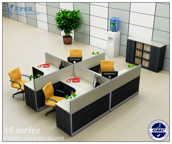 Wholesale 6 Seats Wooden Office Cubicles Partitions With