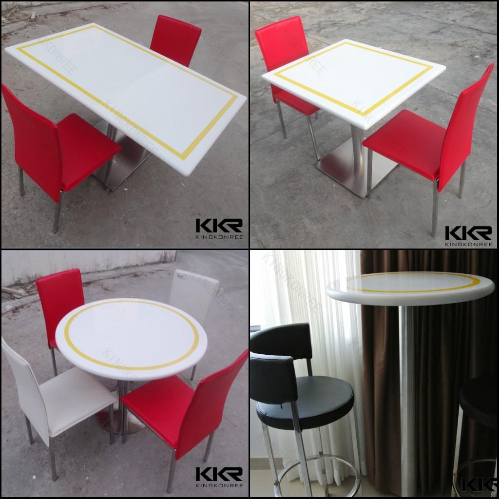 Moderne high end witte ronde salontafels salontafels product id ...