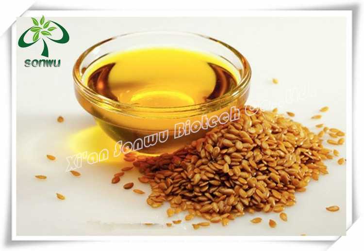 Organic extracting flax seed oil / flaxseed oil / capsules