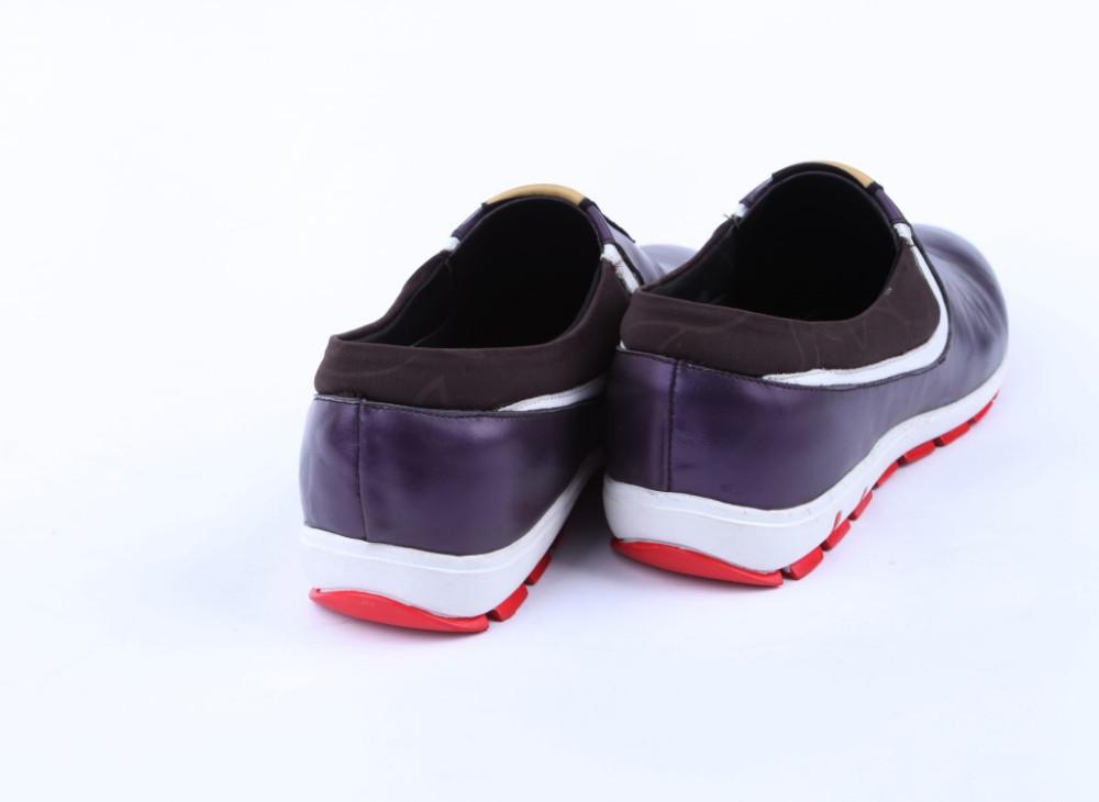 Мужские кроссовки genuien leahter s112