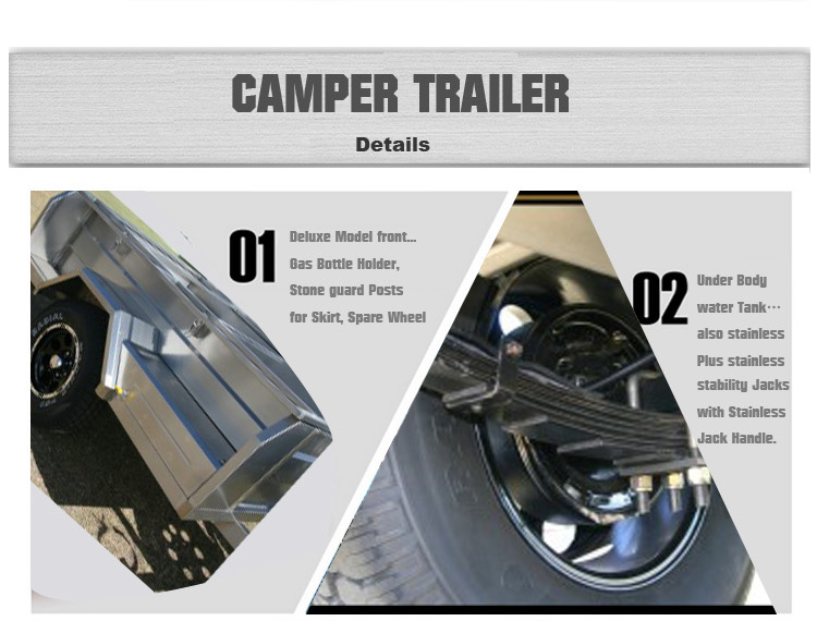 Off road camping trailer