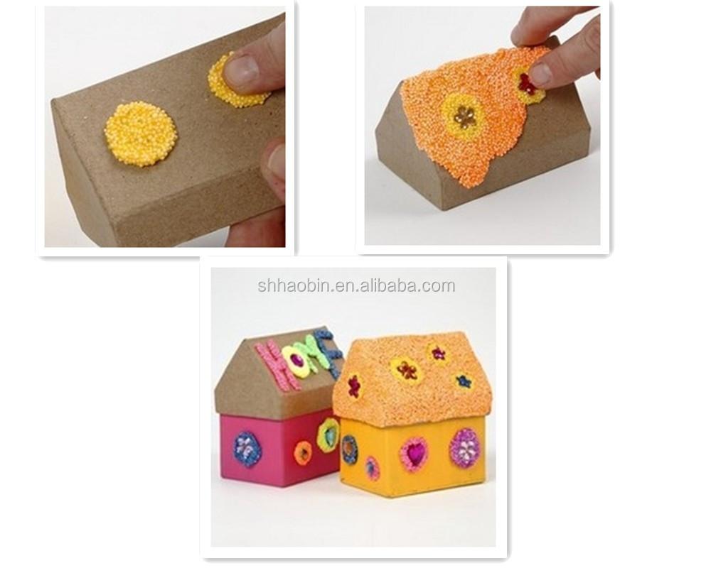дети diy тесто пены глины