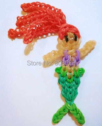 Как сделать из резинок игрушку куклу