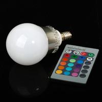 Светодиодная лампа LED Light Factory E27 RGB E14 ac85/265v 5W/10W