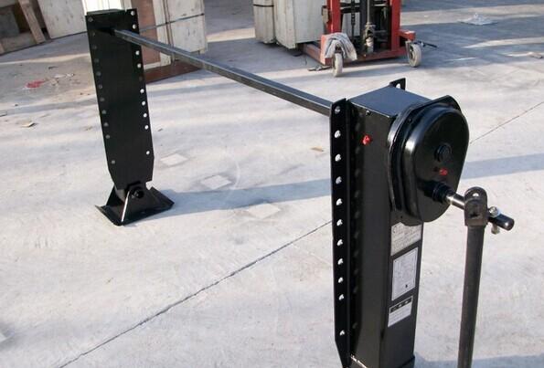 Gooseneck Skid Loader Trailer Landing Gear One Side