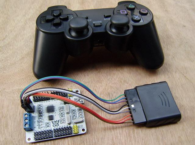 Схема подключения PS2