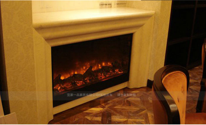 Two Sided Electric Fireplace View Two Sided Electric