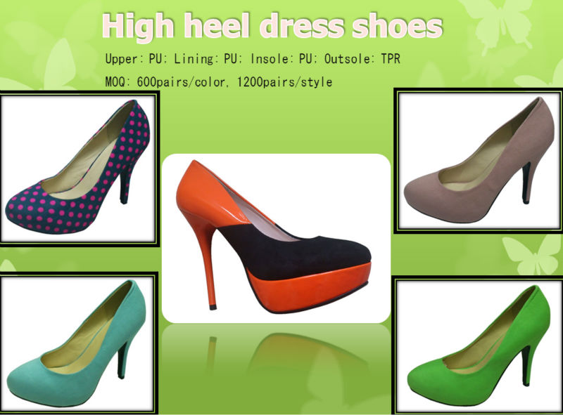 New Fashion High Heel Platform Shoes And Shoes
