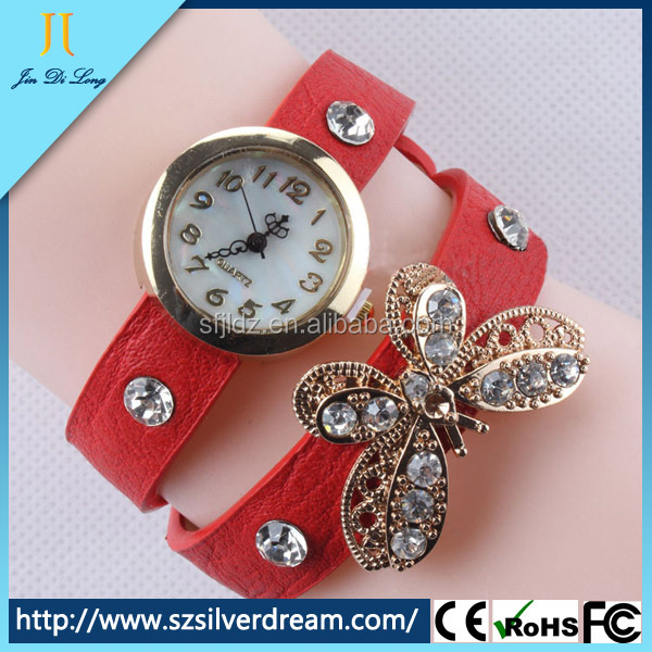 Youngs watches 2014 quarz watch leather women watch wrist fashion lady watch