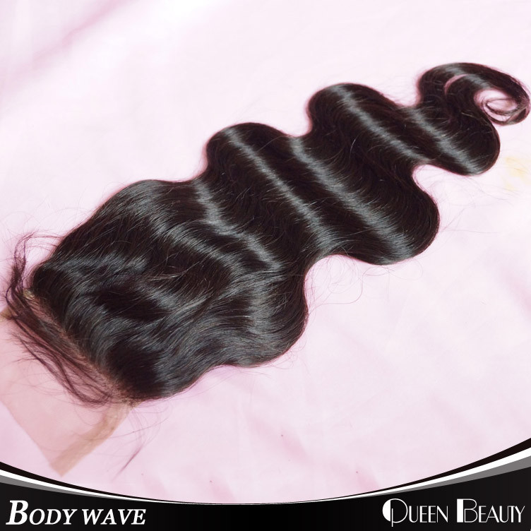 Queen Beauty hair 10/20 4 * 4inches DHL QB-BVRH-BW