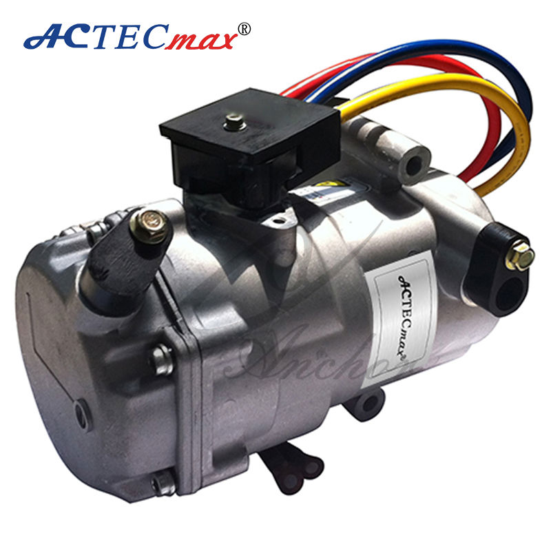 12v dc air conditioner compressor for cars by electric for Dc motor air conditioner