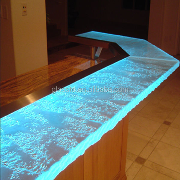 Luxury led lit glass countertopslaminate countertop bar top buy bar countertop29g mozeypictures Image collections