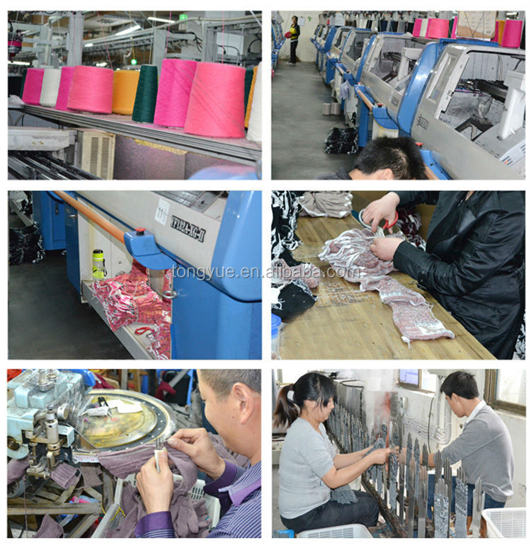 Wholesale lady merino knitted wool glove
