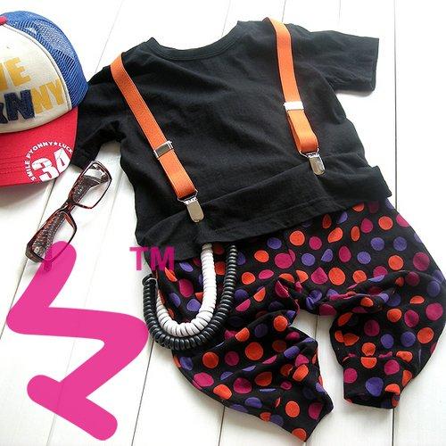 Детский/ kids/baby strap Брюки/ trousers Suspenders adjustable and Brace Elastic ...