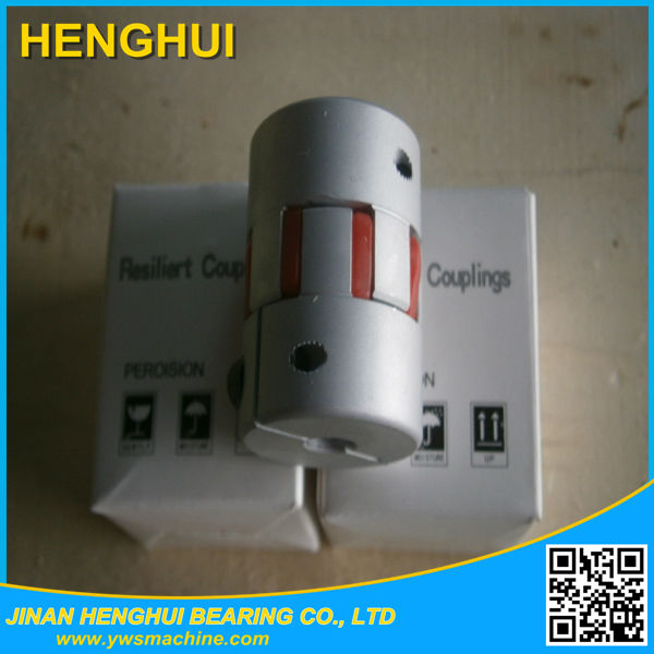 flexible coupling china factory double Disc electric Motor Connector rotary encoder coupling D34 L45 8-14mm