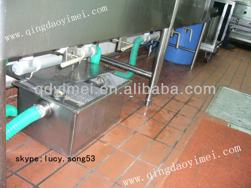 Kitchen Grease Trap For Oil Interceptor (yimei) - Buy Kitchen Grease ...