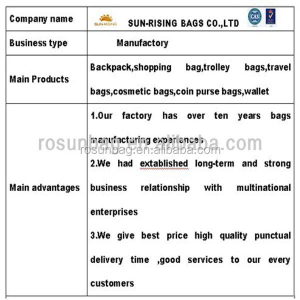 Factory supply fashion high quality child school bag