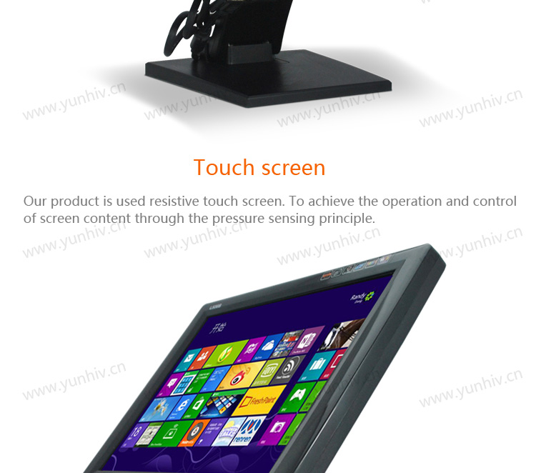 "15"" touch screen monitor/LCD monitor/touch screen computer monitor"