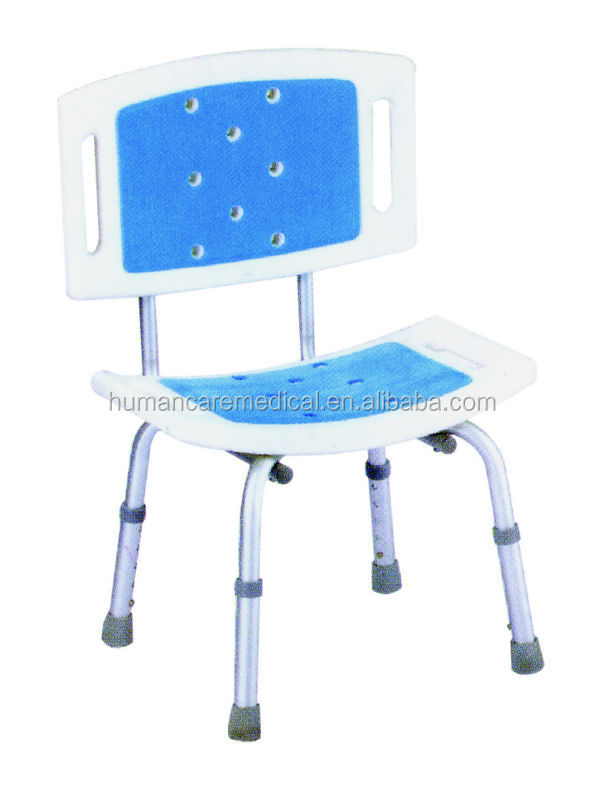 Adjustable Rolling Shower Chairs For Disabled - Buy Rolling Shower ...