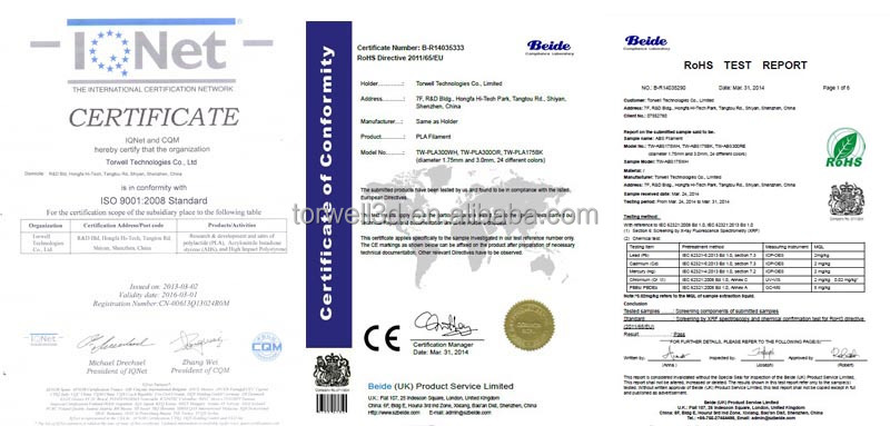 ali certificate 3.0mm_1.75mm_pla filament_abs filament_3d printer filament.jpg