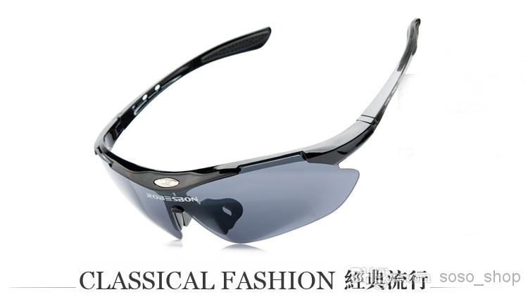 Windproof Sports Sunglasses Outdoor PC Bicycle Glasses