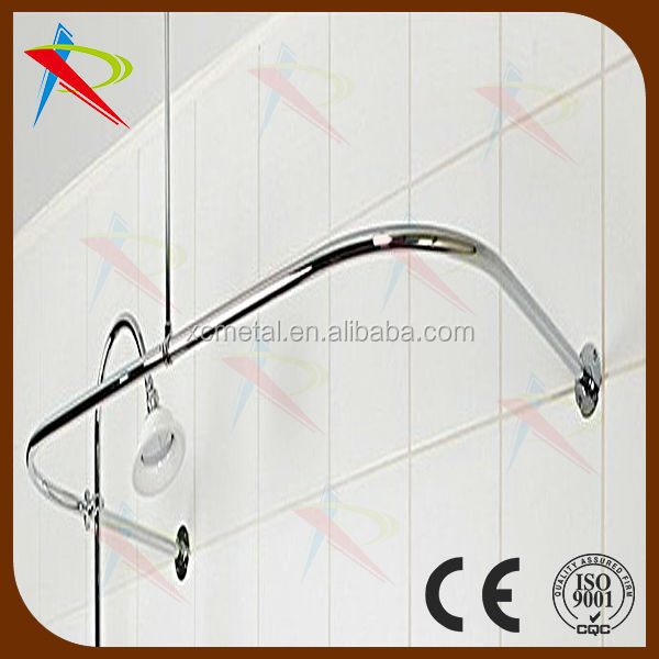 Chrome Flexible Hospital Curtain Rod Shower Curtain Rod View 2014 Curtain Shower Rod Xc