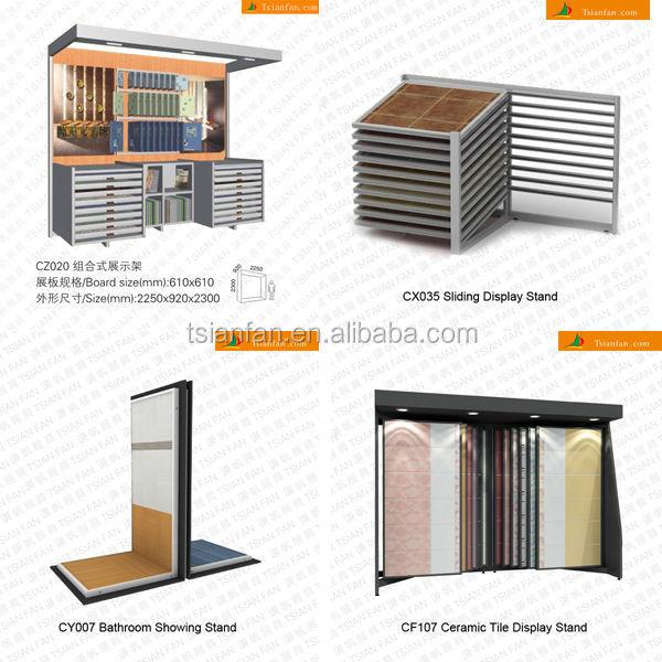 carrelage en c ramique pr sentoirs ct085 support d. Black Bedroom Furniture Sets. Home Design Ideas