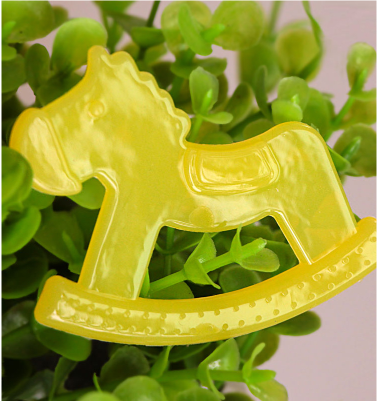 High Quality lovely tree and horse style baby teether baby toy rattles pacifier for baby Free Shipping
