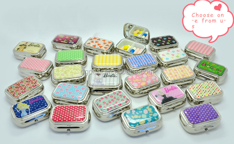 New Design Small Metal Pill Box Fancy Pill Box Unique Pill Box Buy Simple Decorative Pill Boxes