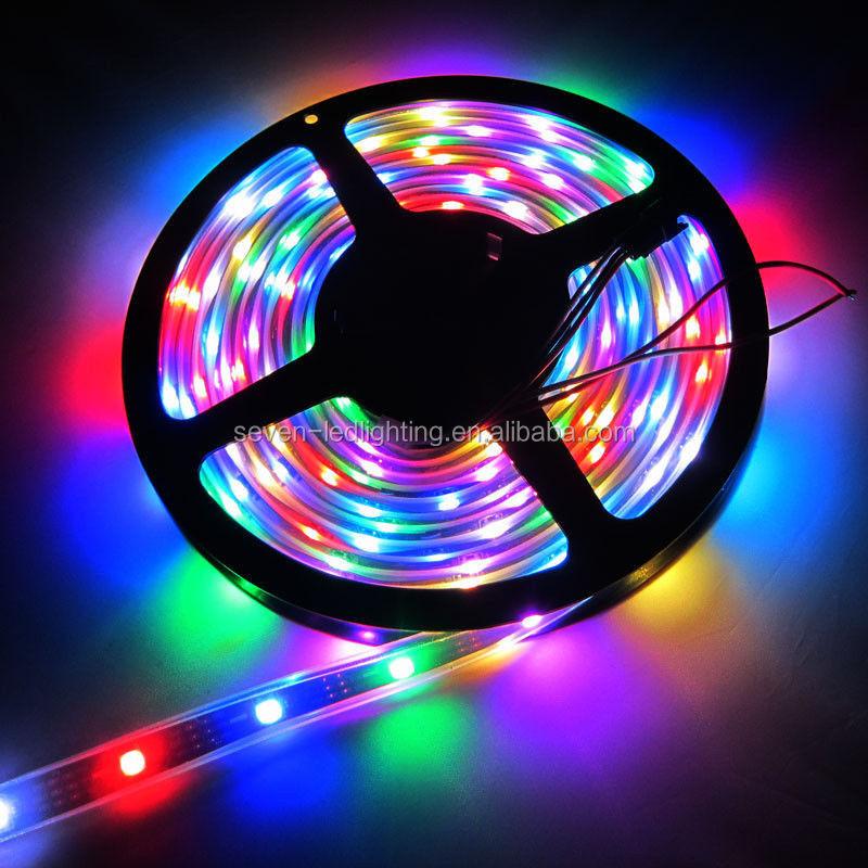 New WS2812B WS2811 5050 RGB LED Strip Individual Addressable 60 Leds/M 5050 smd rgb led strip ws2811