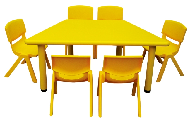 Eco lfriendly preschool kids kitchen table sets plastic for Sets de table plastique