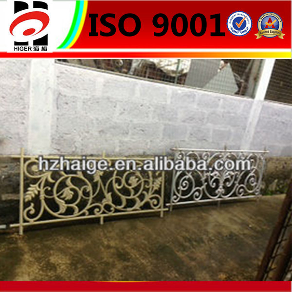 aluminum fence/backyard metal fence/small fences for gardens