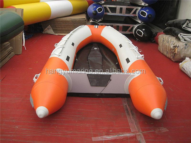 China Cheap Small Boat Inflatable With Outboard Motor for 12 Persons