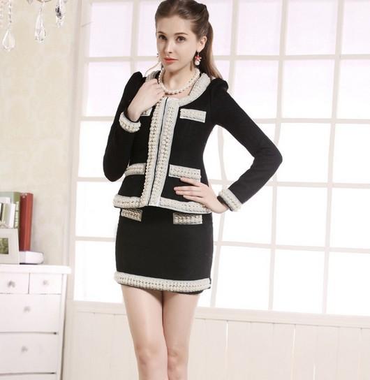 Женский костюм с юбкой купить доставка