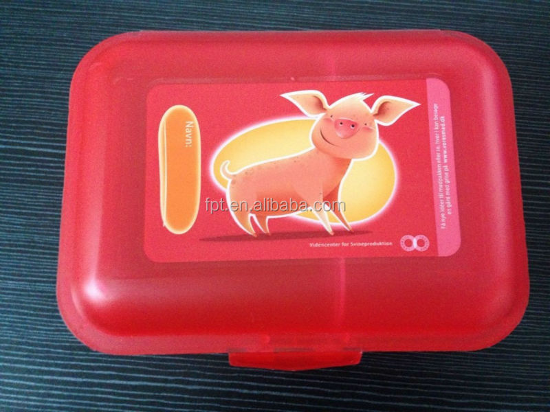 plastic food container,PP rectangle plastic lunch box