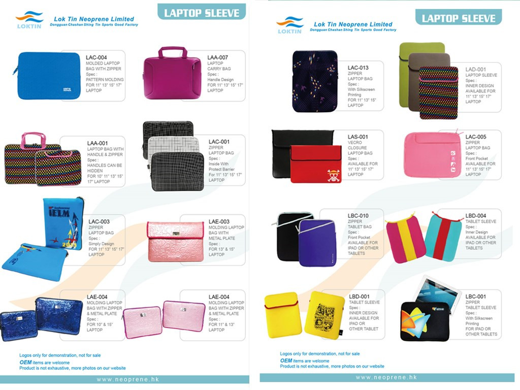 Neoprene Laptop Cases/Sleeves