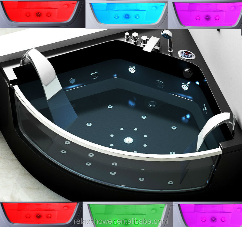 2014 hot sale modern acrylic whirlpool massage bathtub with best price