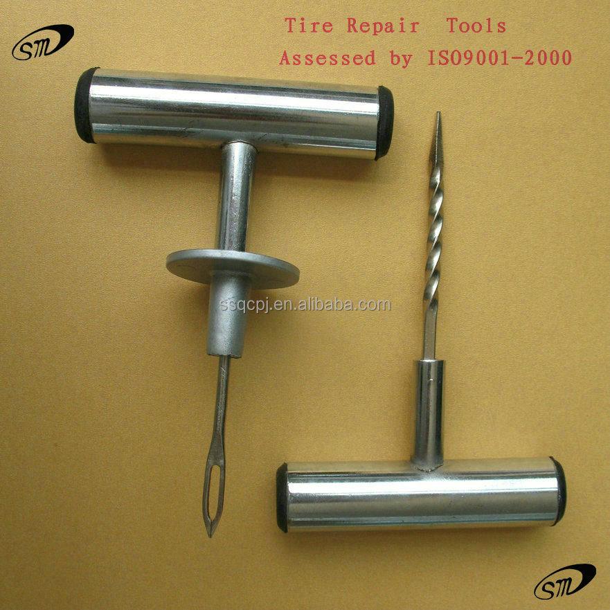 Kit de reparação de pneus sem câmara de ar/ferramentas de reparação de pneus/pneu puncture repair kit (estilo T)