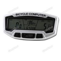 carroteer практические многофункциональный цифровой ЖК велосипедов велосипед компьютер одометр спидометра