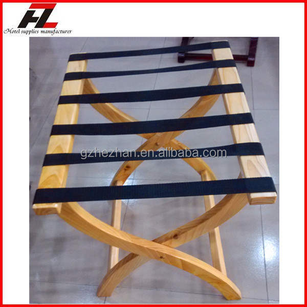 Modern Folding Solid Wood Luggage Rack For Hotel Bedroom Wood Folding Luggage Racks View