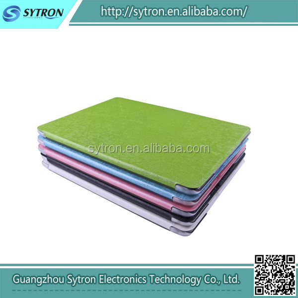 Double-folded PU Leather Cases Stand Cover for Apple iPad Air