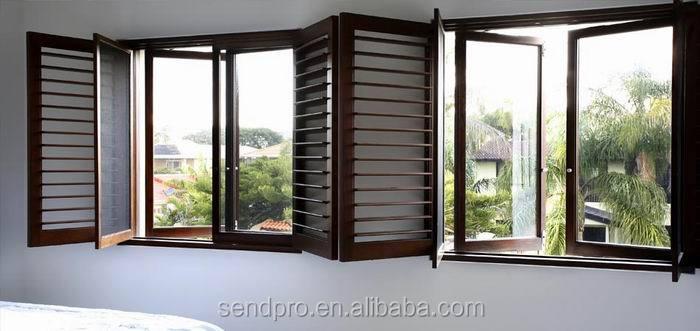 Aluminum opening windows louvers shutter and jalousie for Une jalousie fenetre