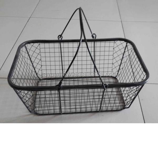 Metal Wire Baskets : Wire mesh basket egg wholesale industrial