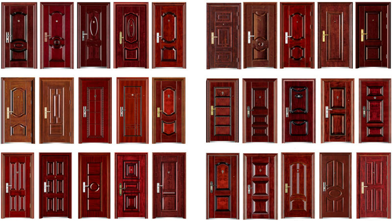 Iron main entrance door design buy main entrance door for Wooden main door design catalogue