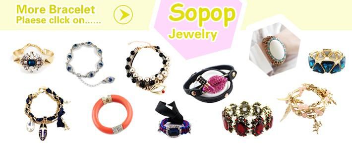 Мода Красочные бисера партия сплава яркий дизайн трехсекционный браслеты ювелирные изделия