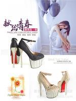 Туфли на высоком каблуке lynl/x 8/10 X8-10